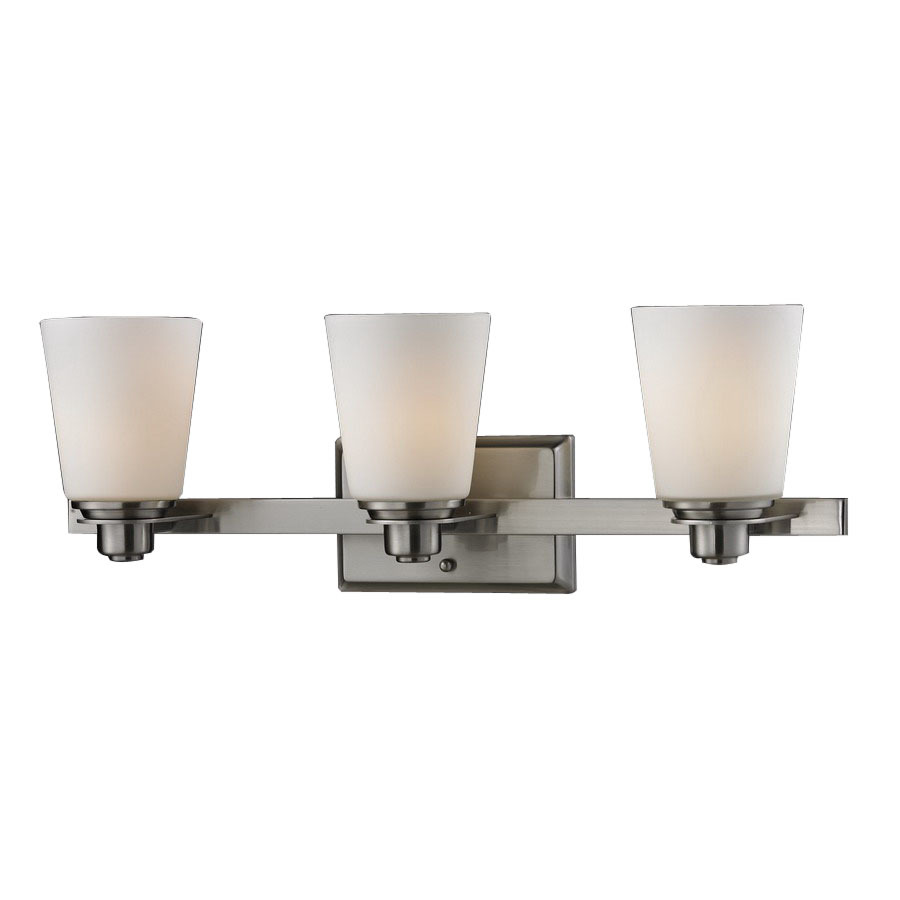 triple wall lamp for lowes bathroom lighting ideas
