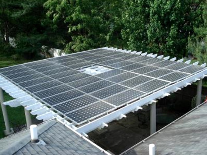 Very Awesome Solar Pergola Plans Roof For Backyard Ideas