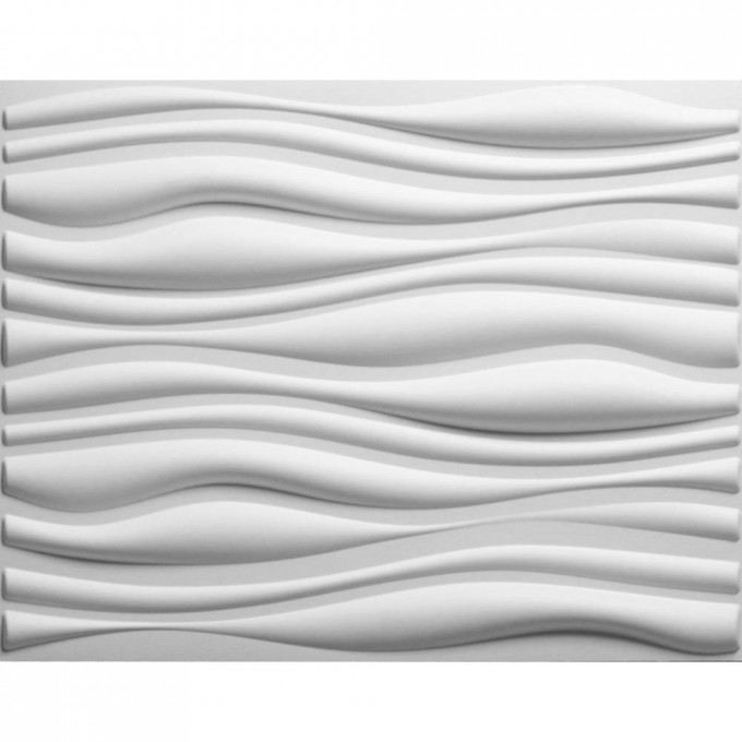 Wavy Textured Wall Panels In White For More Wonderful Wall Ideas