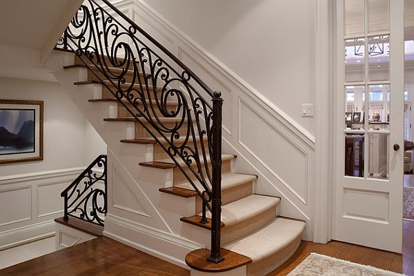 Architecture: Inspiring Handrails For Stairs For Beautiful Stairs ...