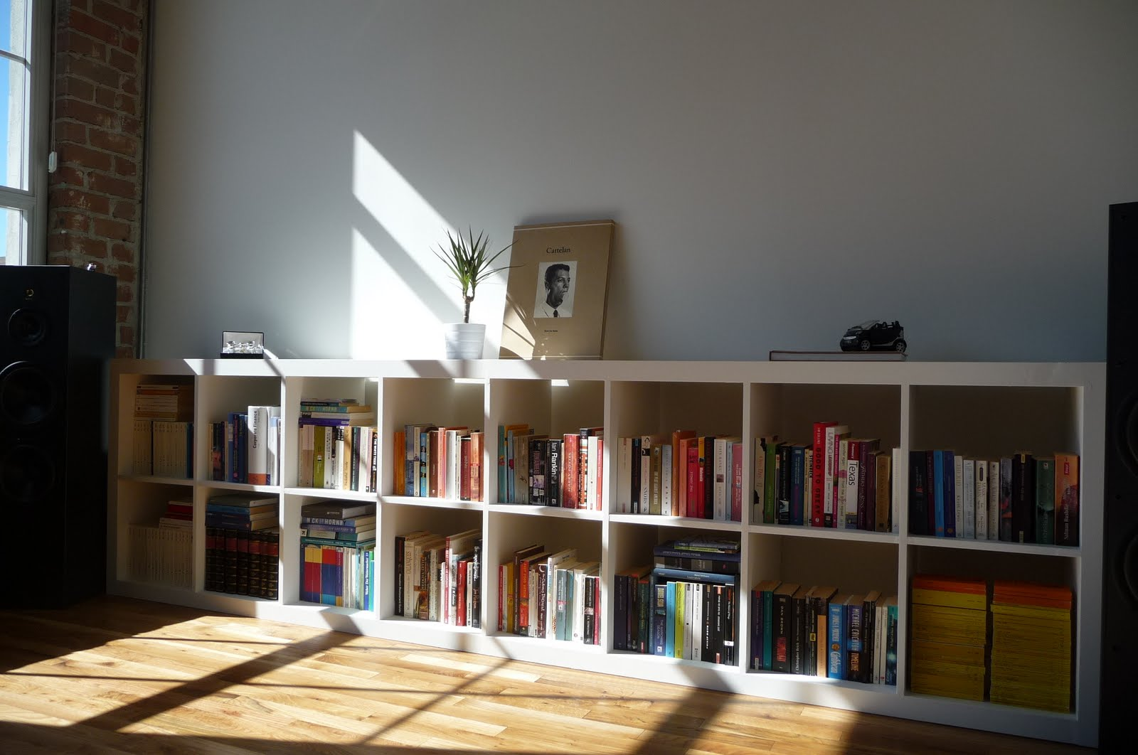white ikea expedit bookcase filled with books ideas with wooden floor and white wall