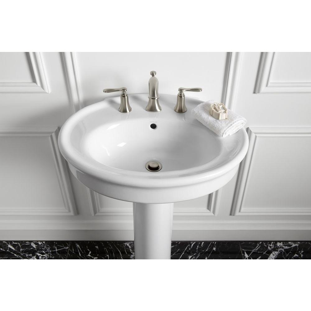 white oval kohler sinks plus faucet for bathroom furniture ideas
