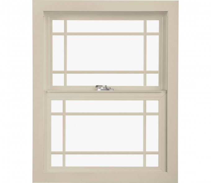 White Pella Windows With Double Hungs Design