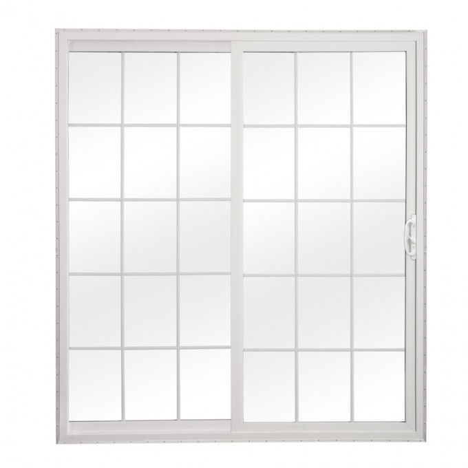 White Reliabilt Doors With Tempered Glass Ideas