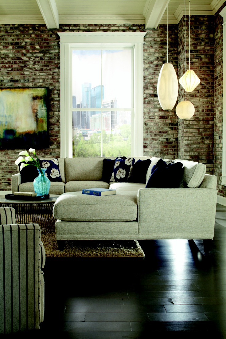 white sofa by Sprintz Furniture with cushion plus chandelier ideas