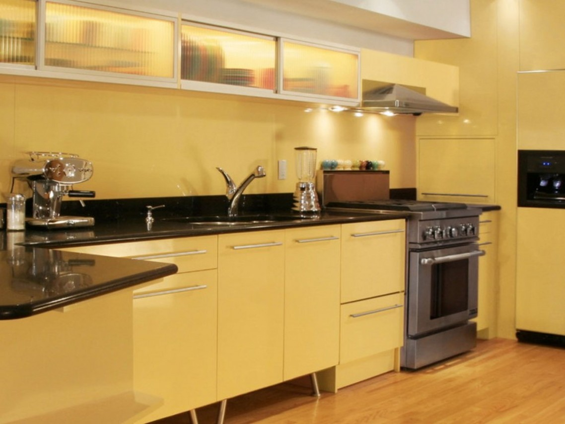 Black And Yellow Kitchen Decor. Cool Trend Black And Yellow Kitchen ...