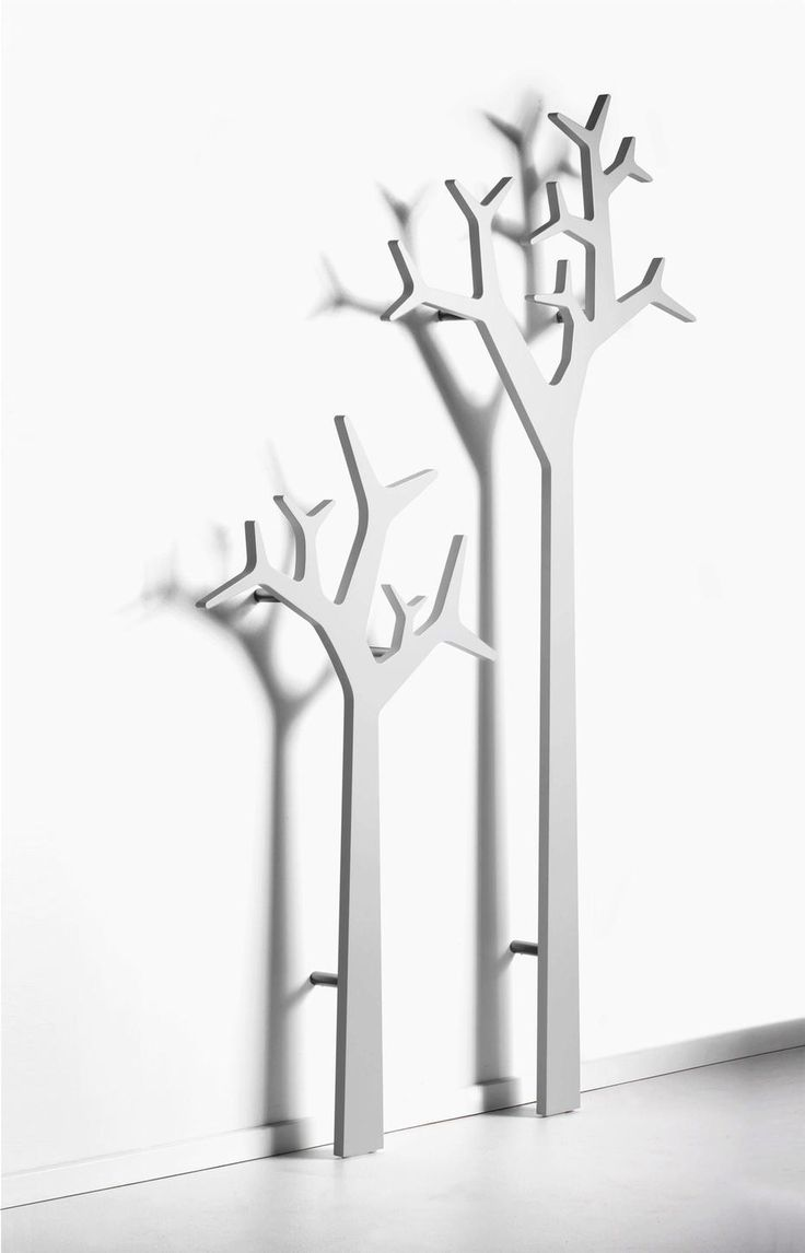 White Tree Shape Ikea standing Coat Rack for inspiring furniture
