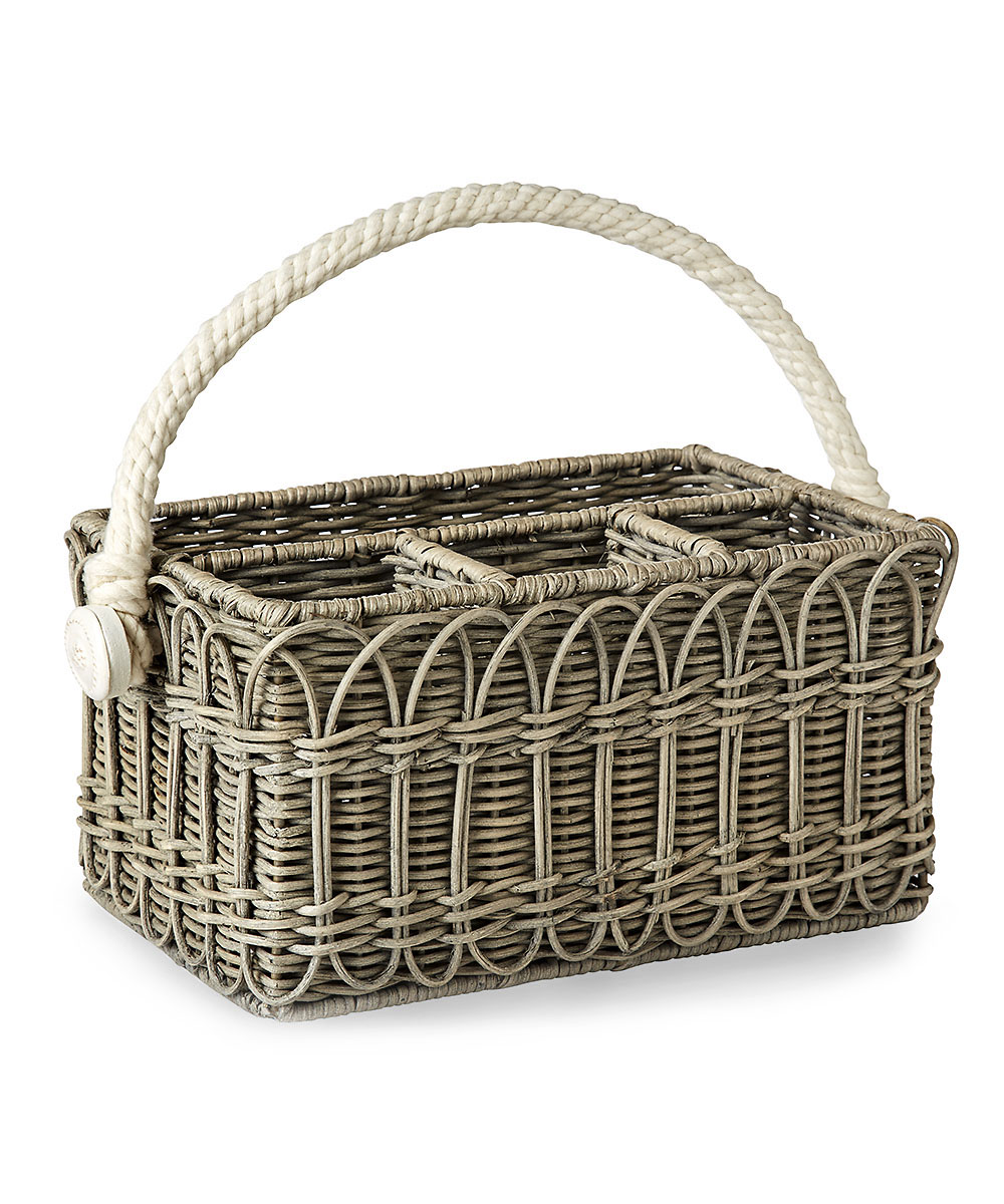 Wicker Utensil Caddy For KITCHEN AND DINING Accessories