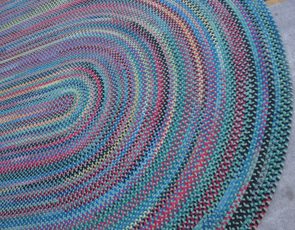 Wonderful and Colorful Room Size Wool Braided Rugs for charming floor decor ideas