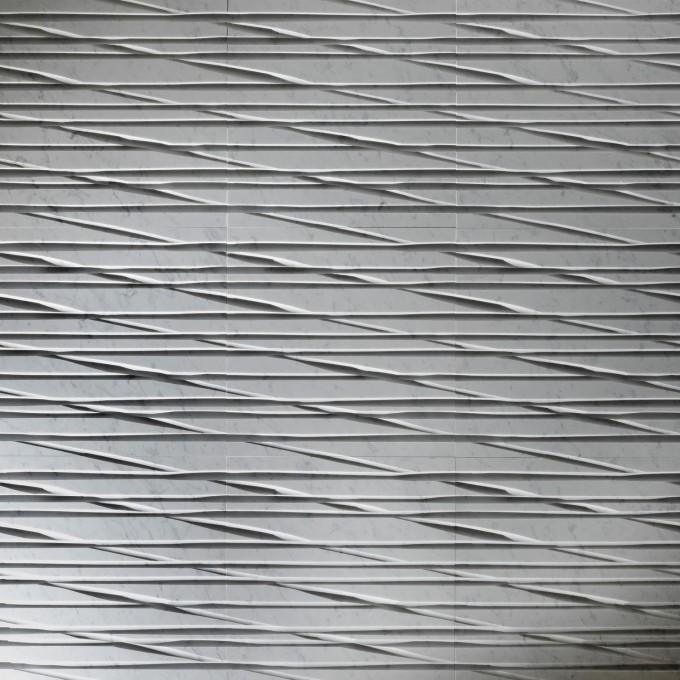 Wonderful Textured Wall Panels With Stripped Motif For Wall Decor Inspiration