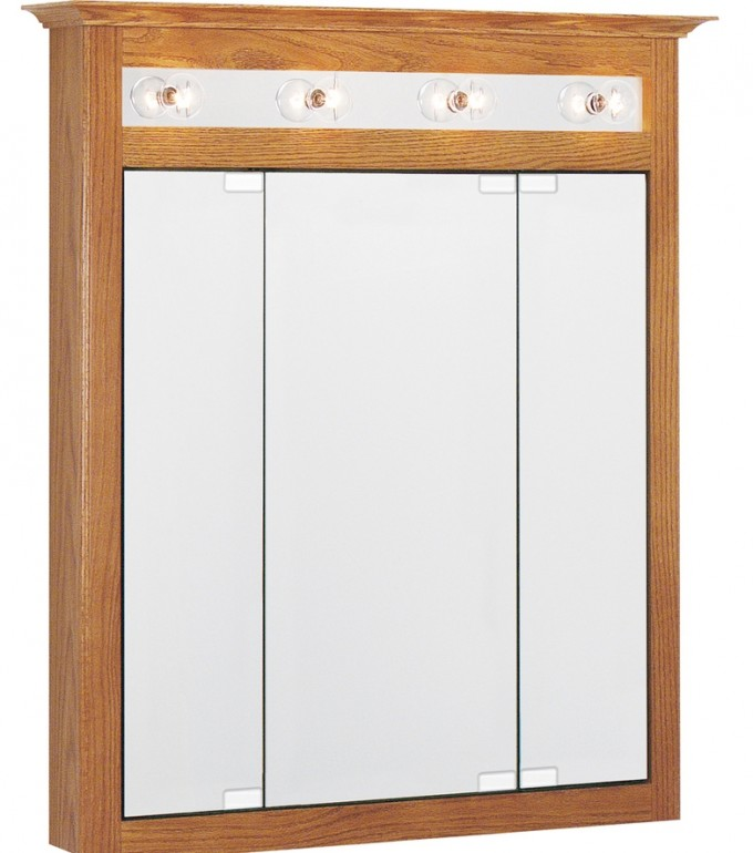 Wood Lowes Medicine Cabinets With Mirror And Lights