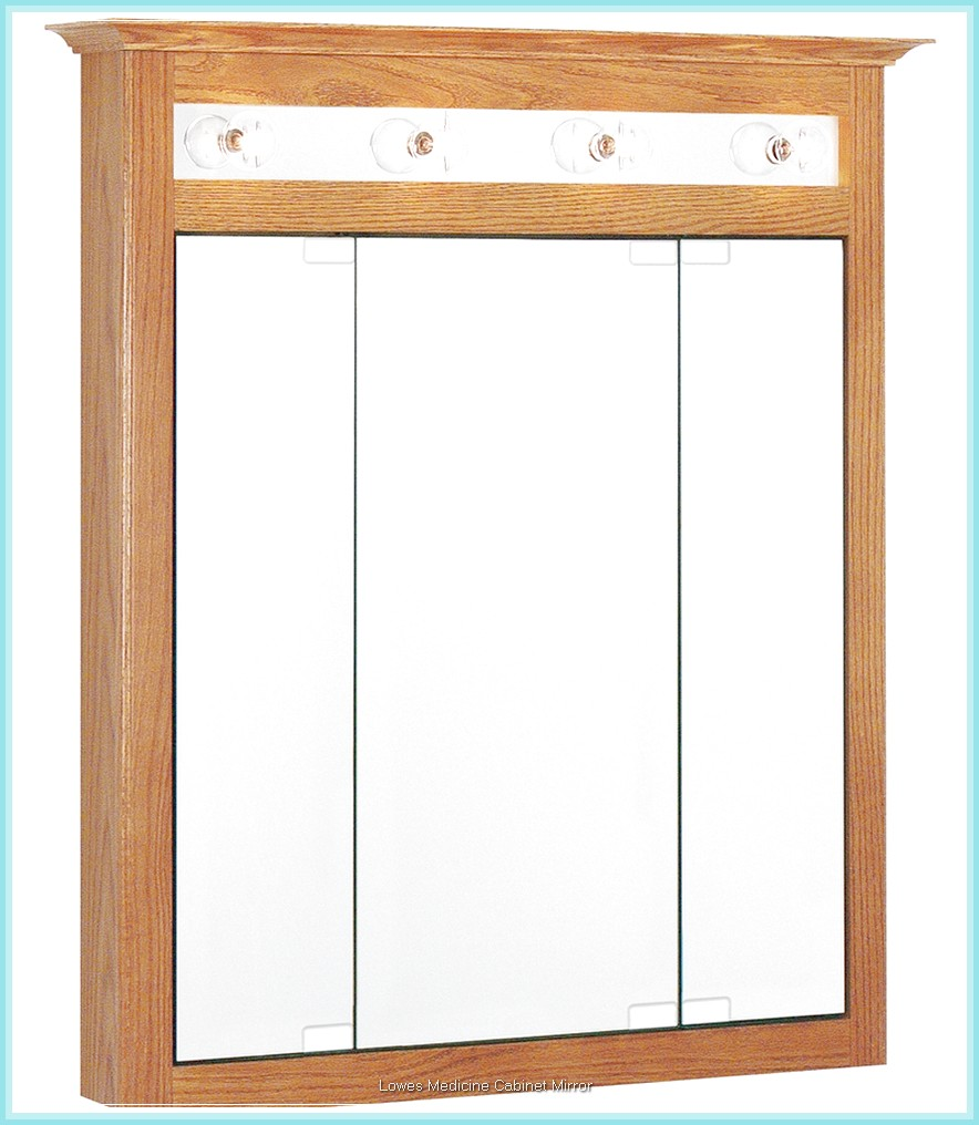 Wood Lowes Medicine Cabinets with Mirror for Home Design Furniture