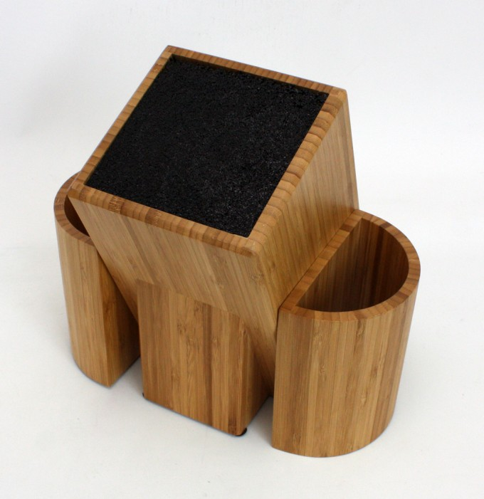 Wooden Knife Utensil Caddy For Kitchen Accessories Ideas