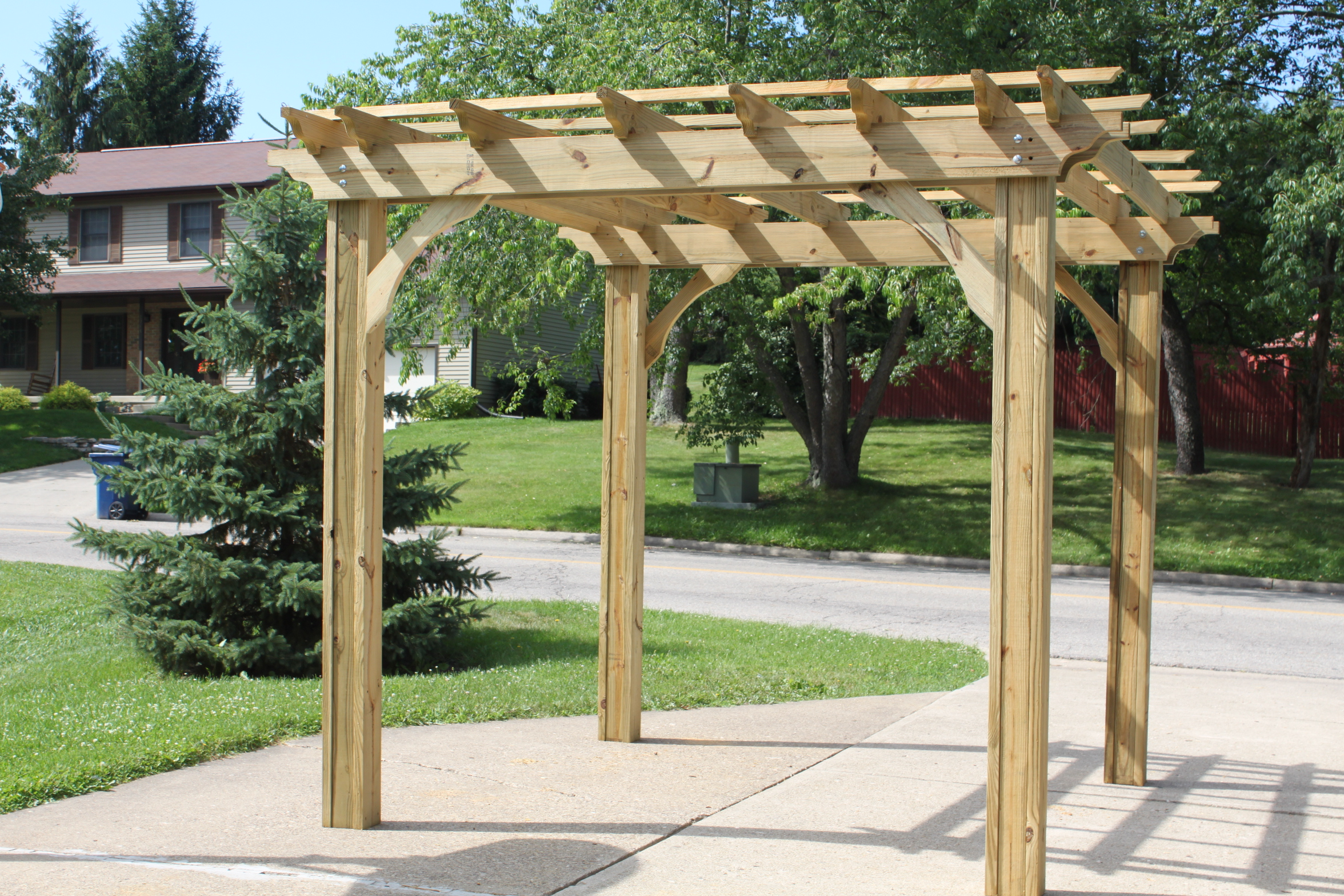 garden outdoor very awesome solar pergola plans roof for
