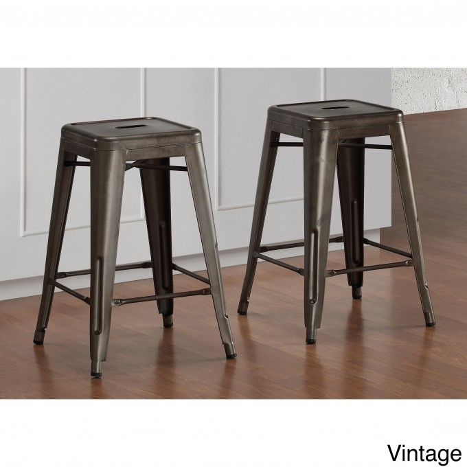 24 Inch Counter Stools In Black For Home Furniture Ideas