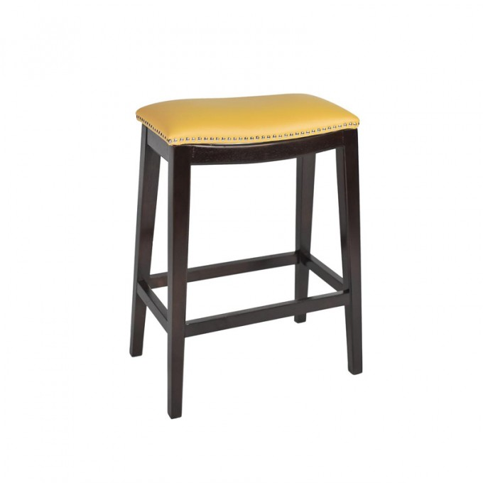 24 Inch Counter Stools In Black With Sandy Brown Leather Seat For Home Furniture Ideas