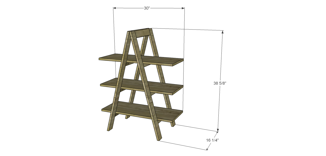 a frame of ladder bookshelf in brown wooden for home furniture ideas - Wooden A Frame Ladder