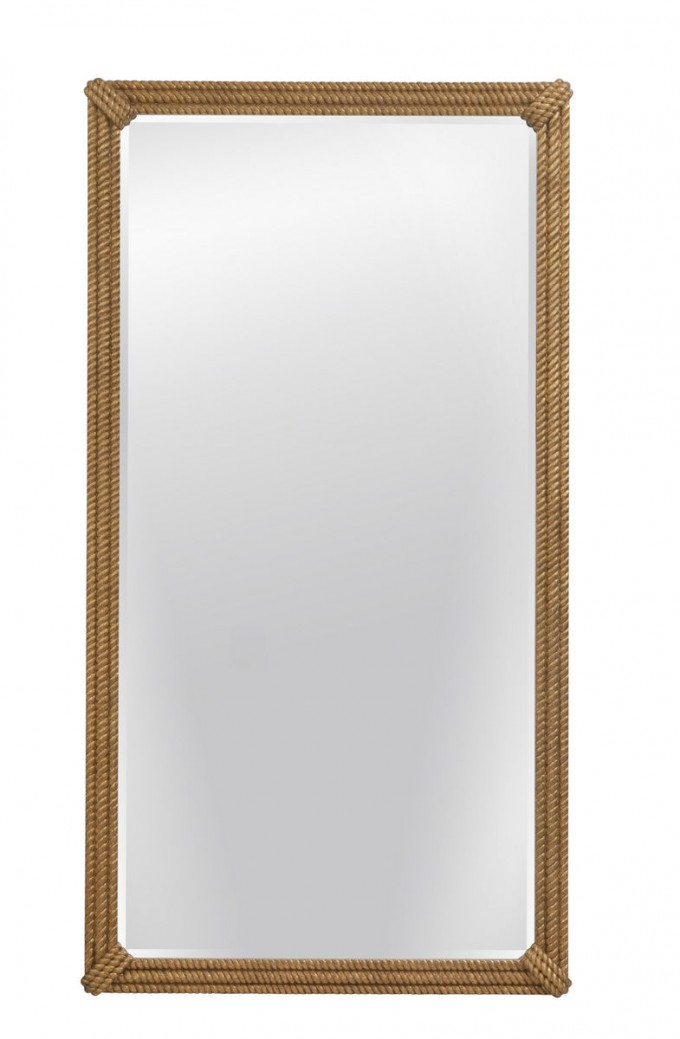 Augustina Leaner Mirror In Golden Color For Home Furniture Ideas