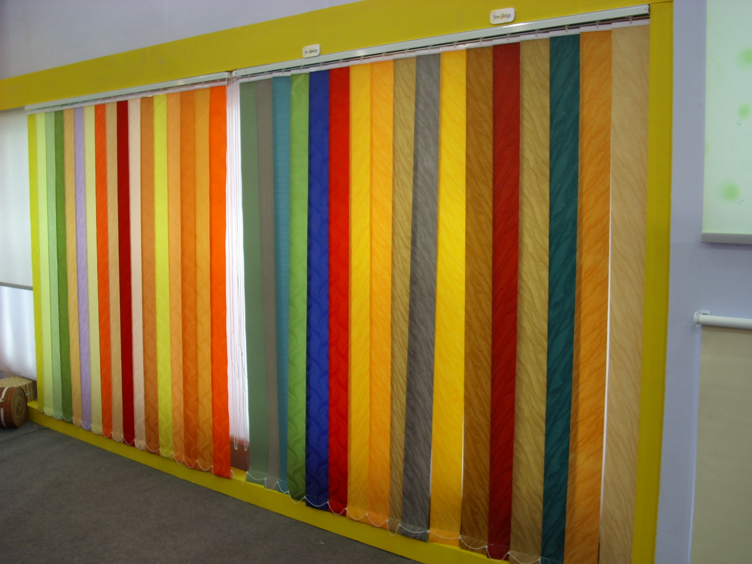 awesome vertical colorful bali blinds for window decor ideas