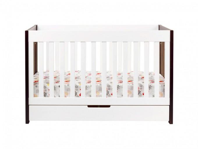 Babyletto Mercer 3 In 1 Convertible Crib In Espresso With Toddler Rails For Nursery Decor Ideas