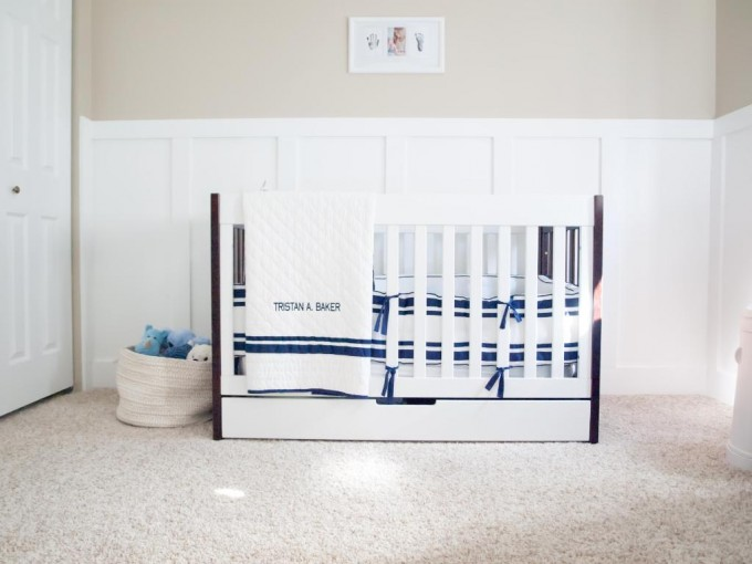Babyletto Mercer 3 In 1 Crib With Toddler Rail Two Tone For Nursery Furniture Ideas