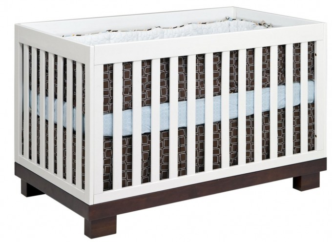 Babyletto Modo 3 In 1 Convertible Crib White Free Shipping For Nursery Furniture Ideas
