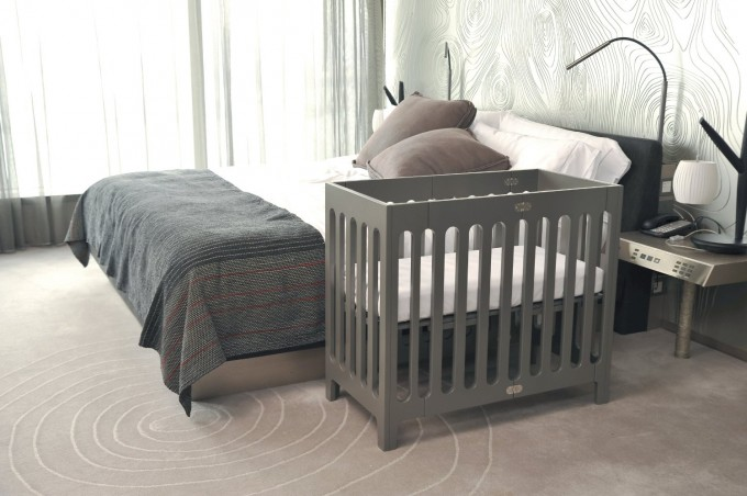 Bedroom Decor With White Bedding Plus Grey Crib By Babyletto On Tan Carpet Ideas
