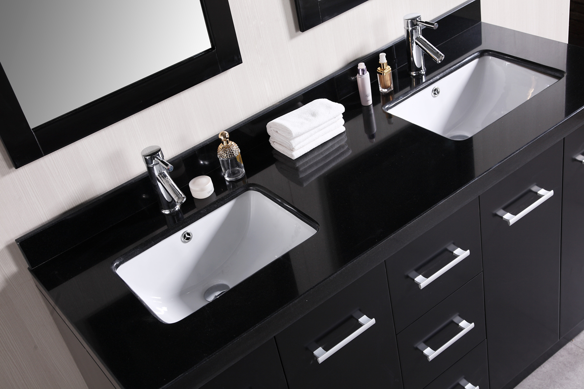 black vanity with sink. black bathroom vanities with tops in and double sinks faucets  before the wheat wall Bathroom Inspiring Vanities With Tops For