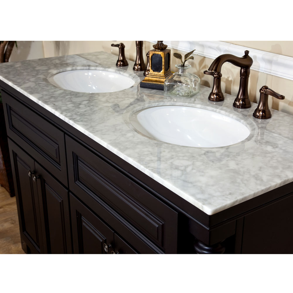 sink top for vanity. black bathroom vanities with tops plus double sinks and faucet sets  for furniture ideas Bathroom Black Wooden Vanities With Tops In White Plus