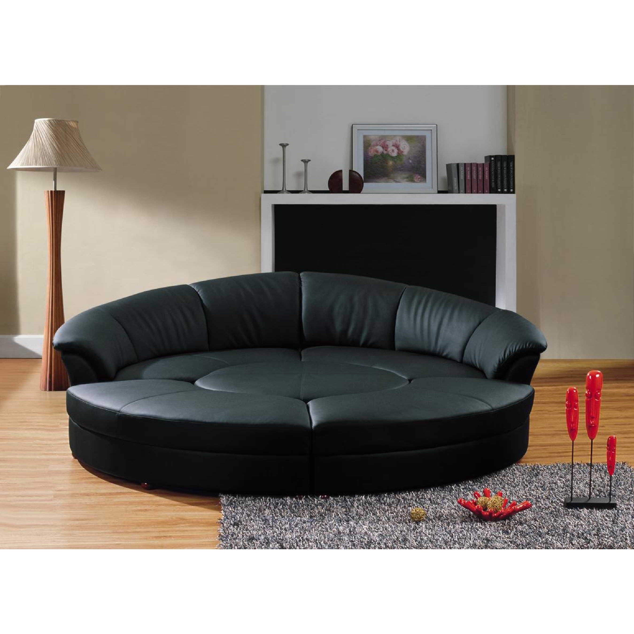 black leather cheap futons on wooden floor plus carpet for living room decor ideas