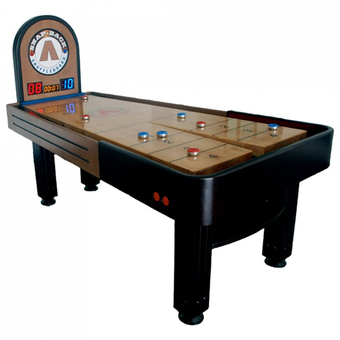 Black Wooden Shuffleboard Table For Sale For Game Table Ideas