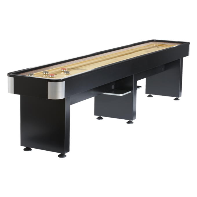 Black Wooden Shuffleboard Table For Sale For Home Traditional Game Ideas