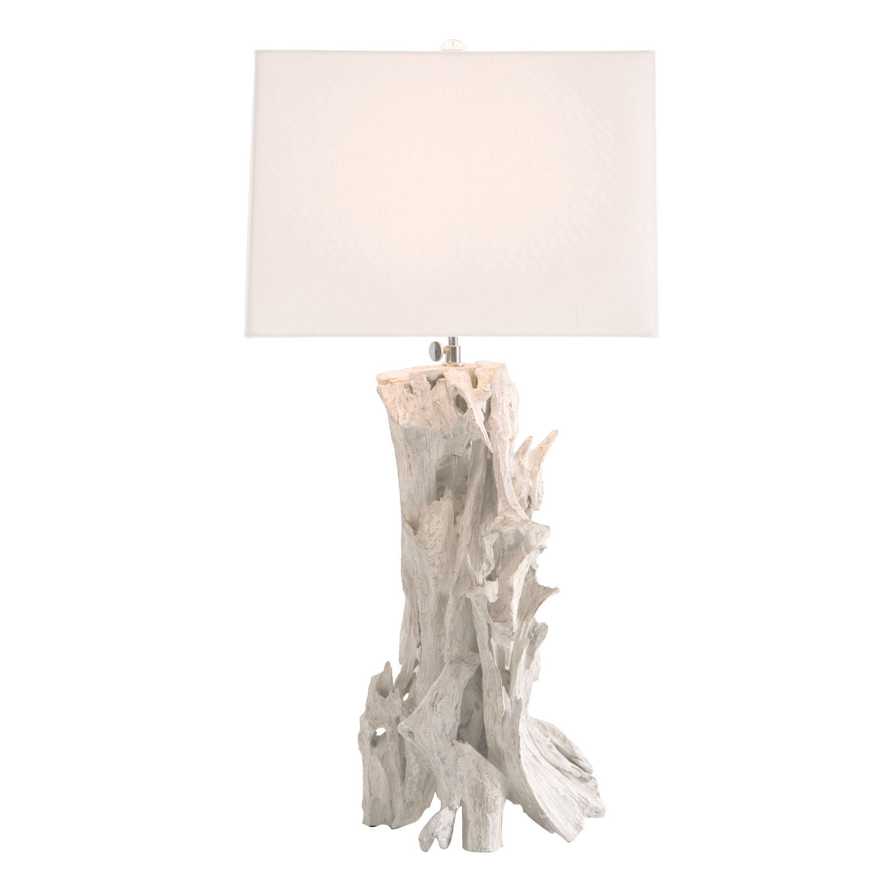 Bodega driftwood floor lamp in white theme for inspiring lighting ideas