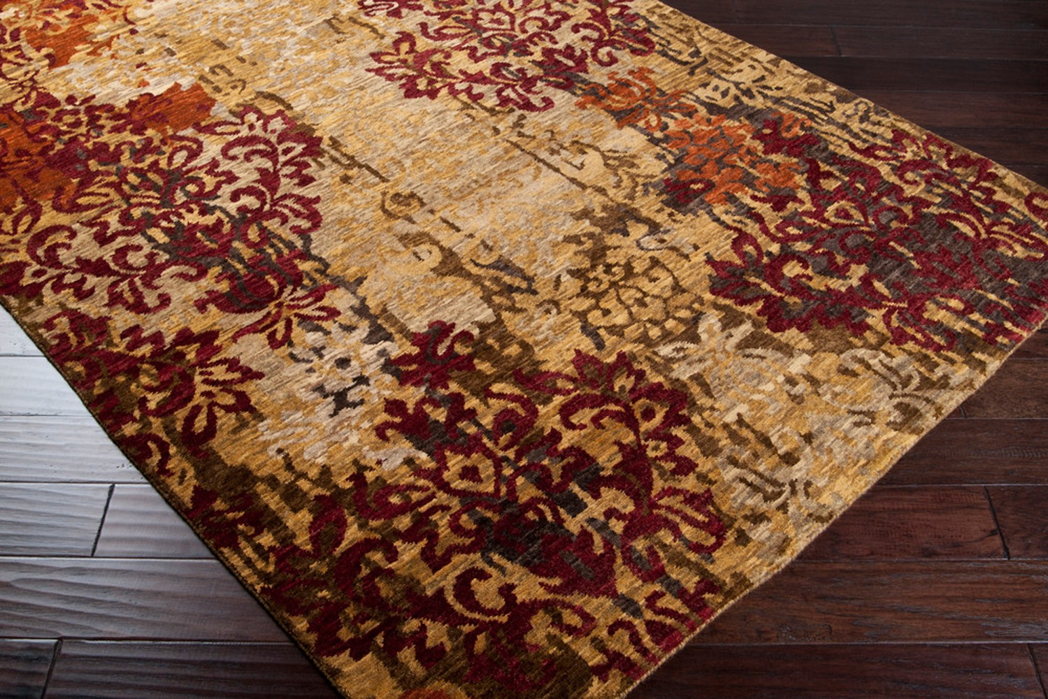 Brocade BRC 1002 Surya Rugs With Floral Pattern For Floor Decor Ideas