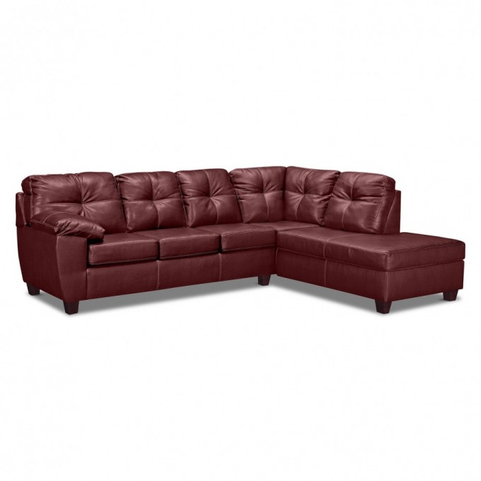Brown Leather Sectional Sleeper Sofa For Living Room Furniture Ideas
