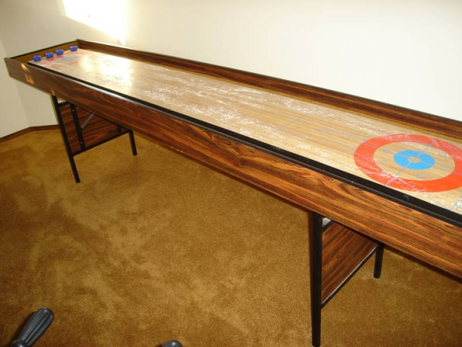 Champion Bank Shot shuffleboard table for sale