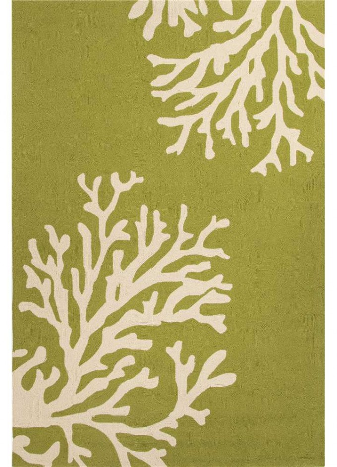 Charming 5x7 Area Rugs In Olive With Brunch Motif For Floor Decor Ideas