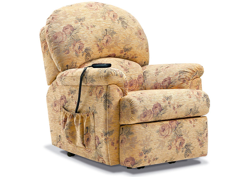 charming and comfortable power lift recliners with floral pattern for home furniture ideas