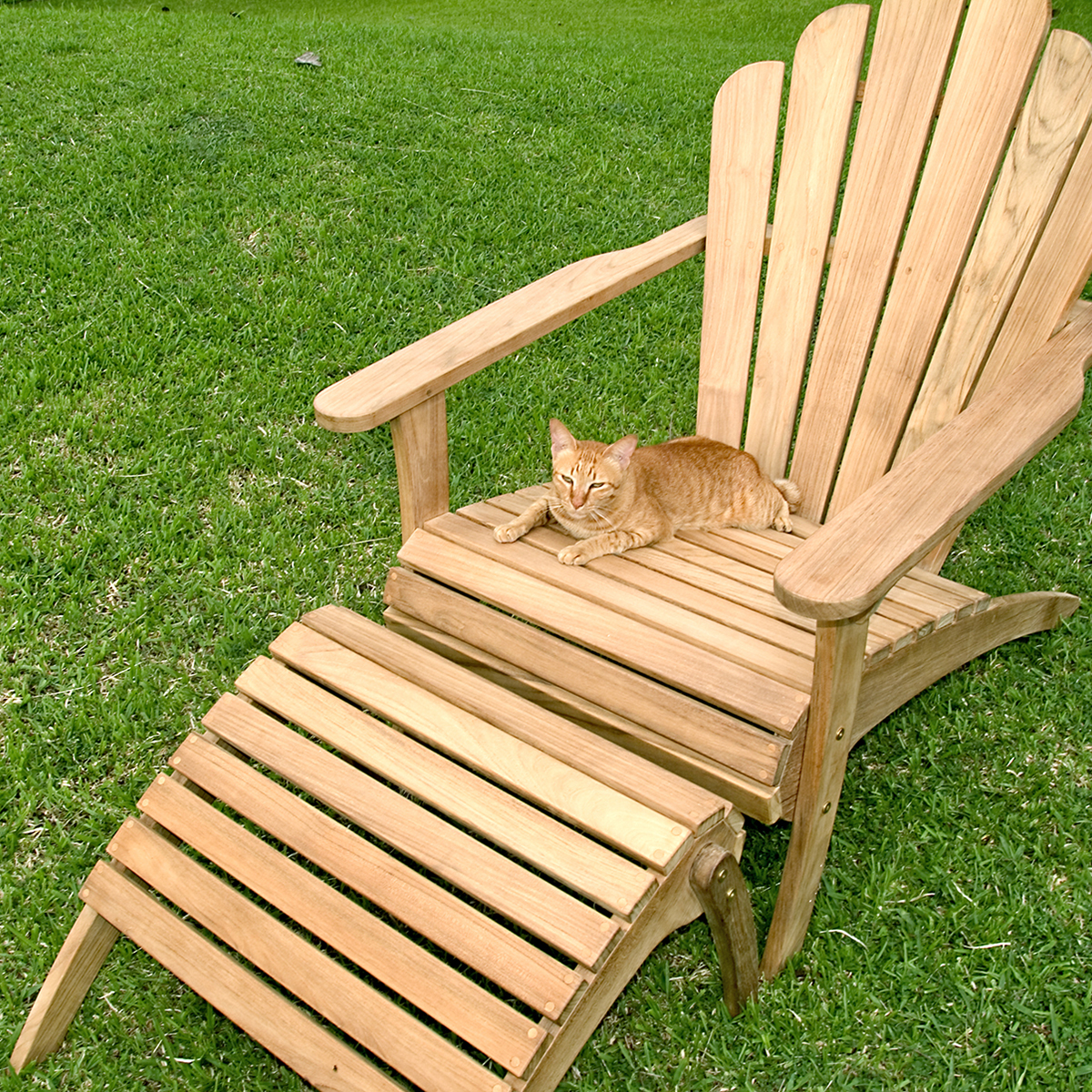 charming and unique teak adirondack chairs for outdoor furniture ideas