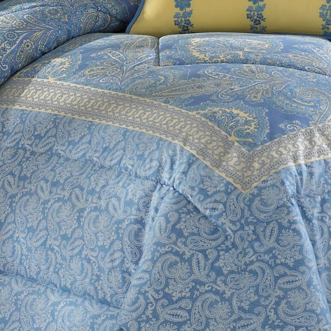 Charming Bedding In Blue And Floral Pattern By Laura Ashley Bedding