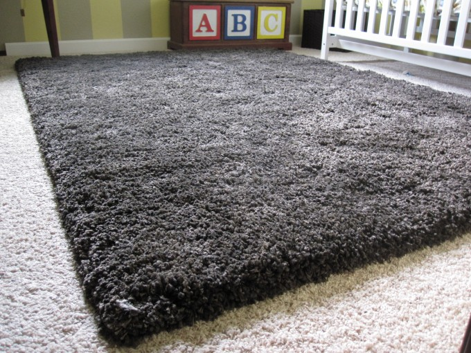 Charming Black Shag Rugs For Floor Decor Ideas