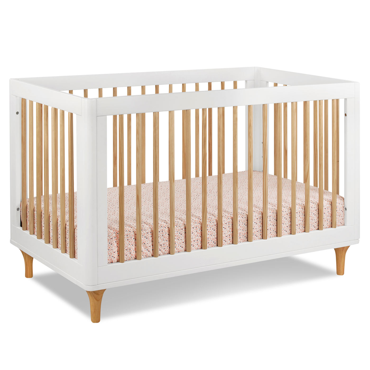 Charming Crib In White And Cream By Munire Crib For Nursery Furniture Ideas