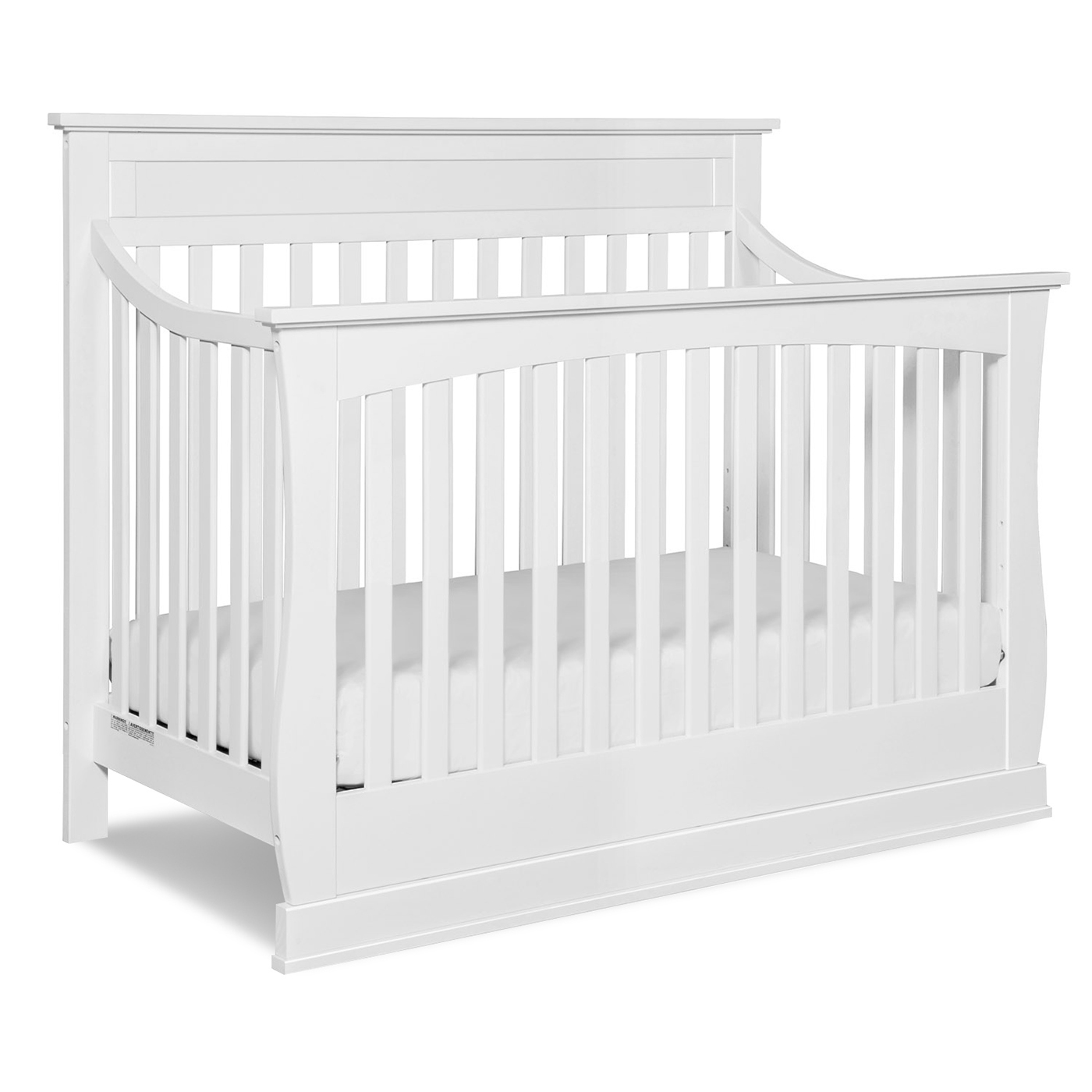 charming crib in white theme by munire crib for nursery furniture ideas