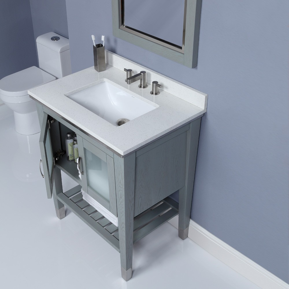 grey bathroom sink cabinets. charming grey bathroom vanities with tops and sink plus faucet on white  ceramics floor matched Bathroom Inspiring Vanities With Tops For