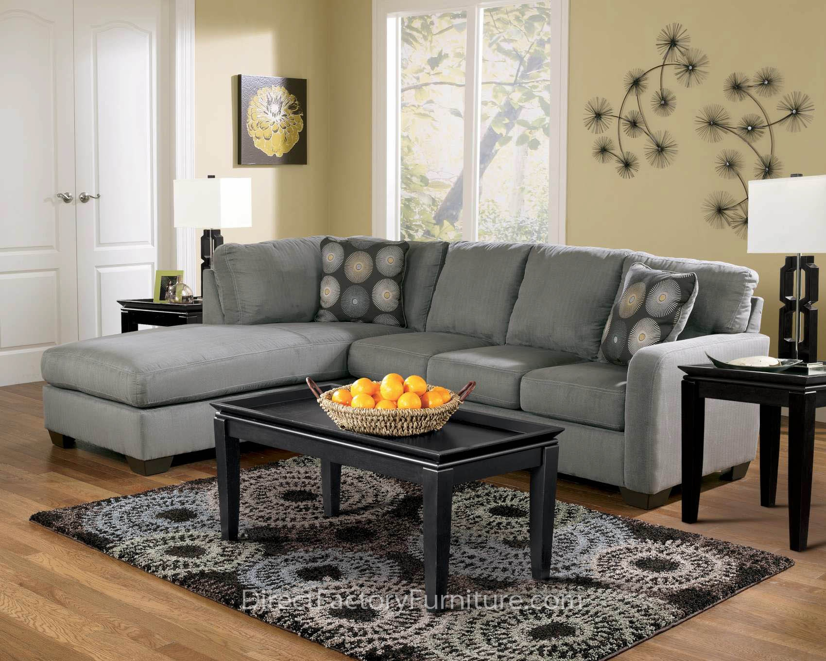 Charming L Shaped Cheap Sectional Sofas In Light Slate Grey On Wooden Floor  Plus Cushion And