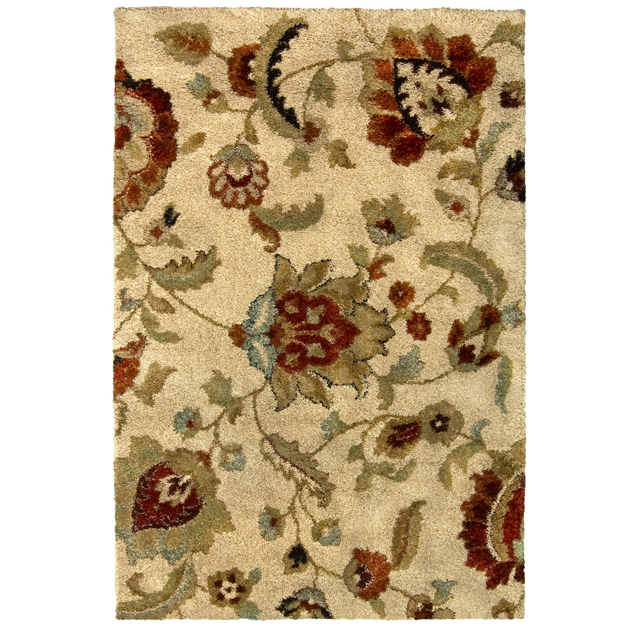 charming lowes rugs in natural floral motif for floor decor ideas