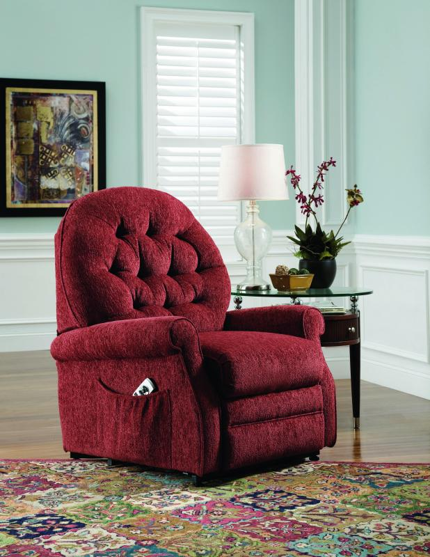 charming power lift recliners in red for home furniture ideas