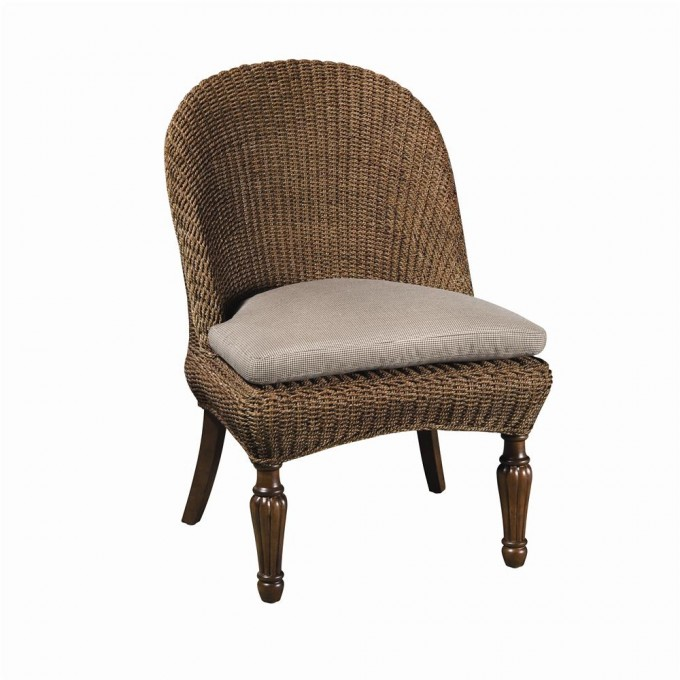 Charming Seagrass Dining Chairs With White Cushion Seat For Dining Room Furniture Ideas