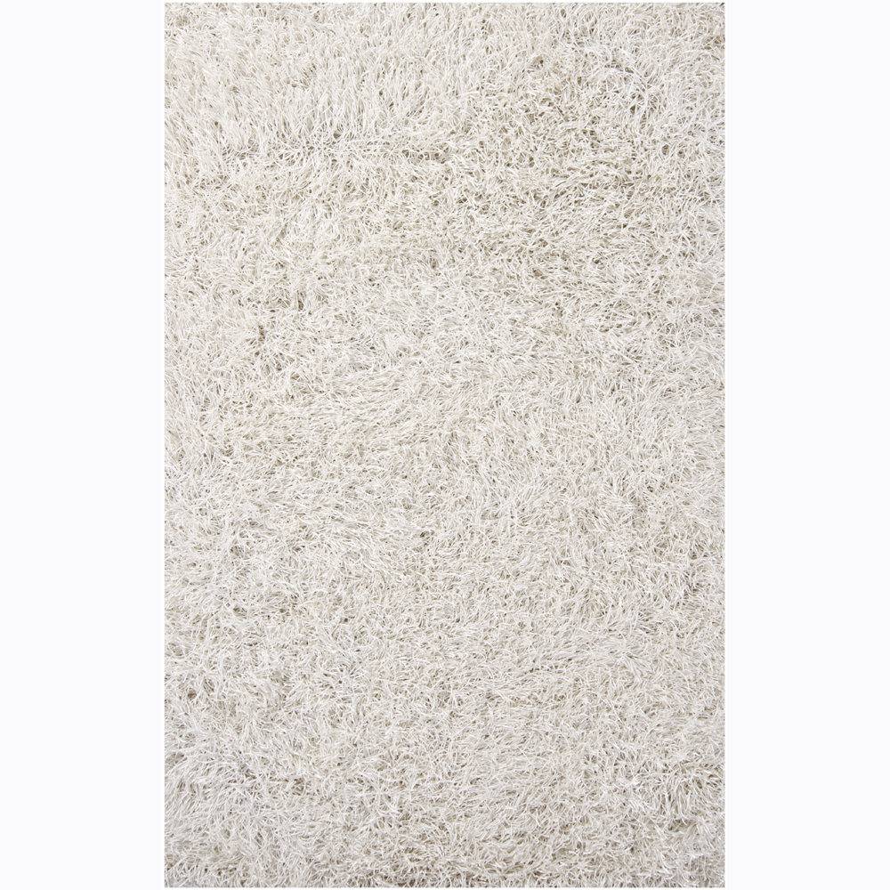 charming shag rugs in solid white for floor decor ideas