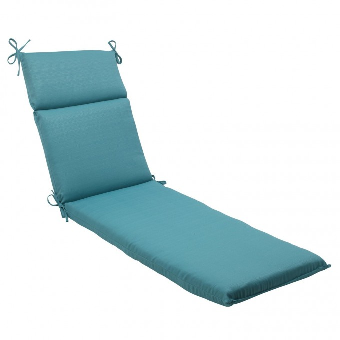 Charming Sunbrella Cushions In Solid Blue For Comfortable Seat Ideas